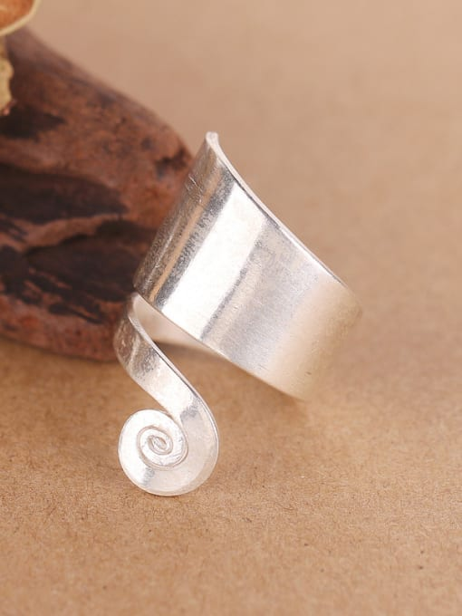 Peng Yuan Personalized Silver Handmade Unisex Ring 1