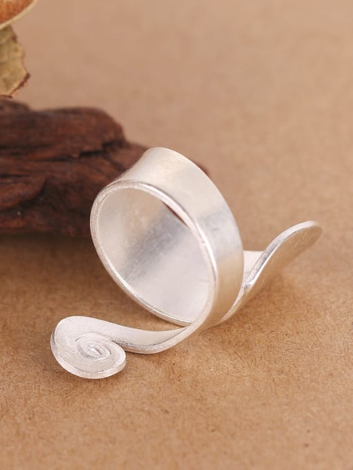 Peng Yuan Personalized Silver Handmade Unisex Ring 2