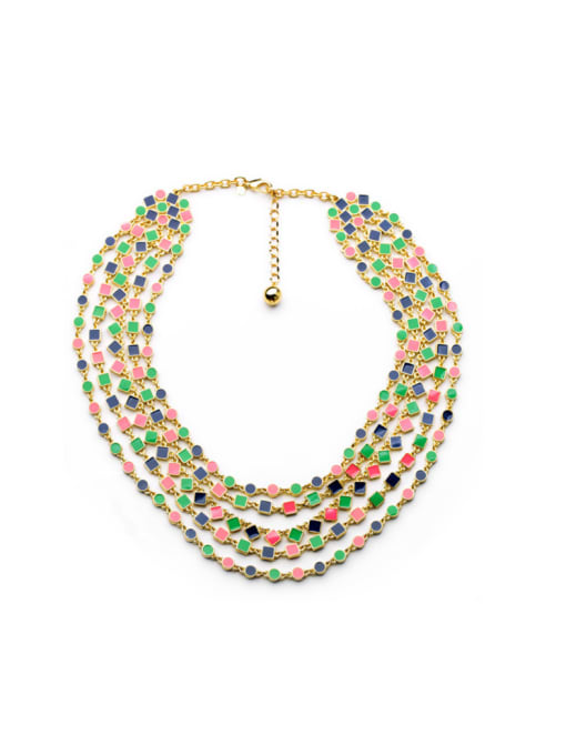 KM Luxury Multi-layer Lady's Necklace