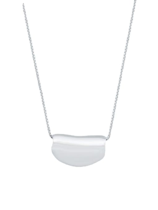 XBOX 925 Sterling Silver Irregular Minimalist Necklace 4
