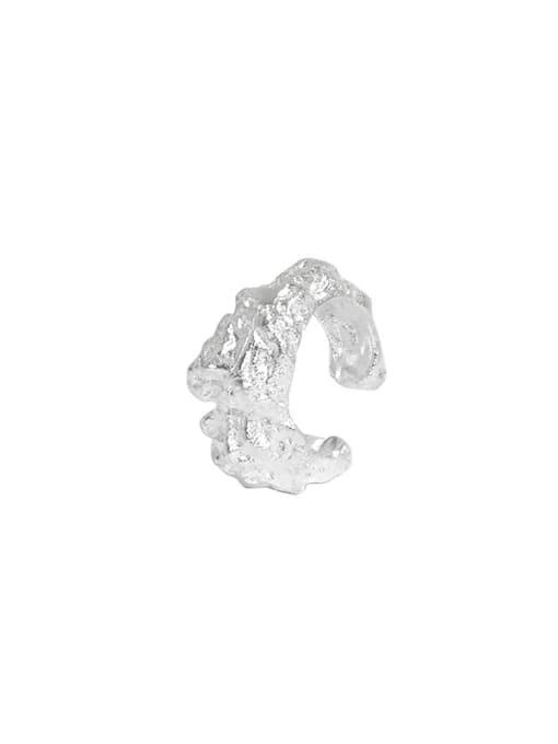 DAKA 925 Sterling Silver Irregular Vintage Stud Earring 3
