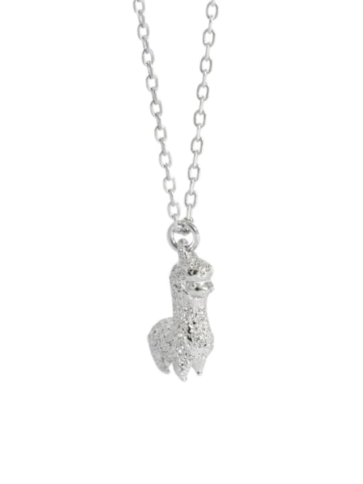 Dak Phoenix 925 Sterling Silver Simple mini alpaca Vintage Necklace 4
