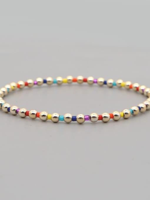 Roxi Stainless steel Bead Round Bohemia Beaded Bracelet 2