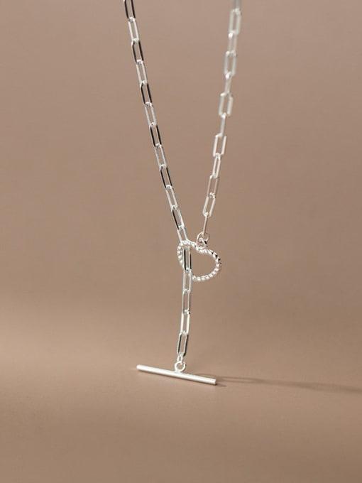 Rosh 925 Sterling Silver Tassel Minimalist Lariat Necklace 0