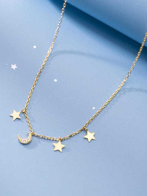 Rosh 925 Sterling Silver Star Minimalist Necklace