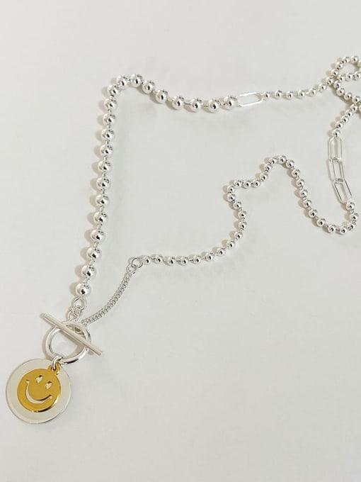Boomer Cat 925 Sterling Silver Geometric Minimalist Necklace 3