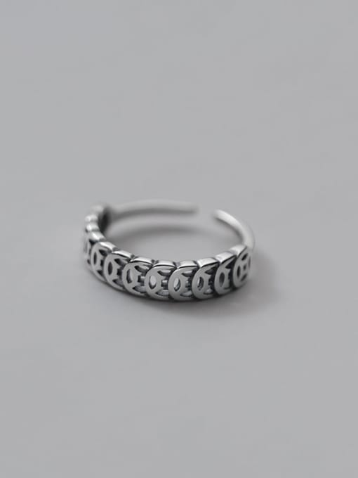 Rosh 925 Sterling Silver Coin Vintage Band Ring 2