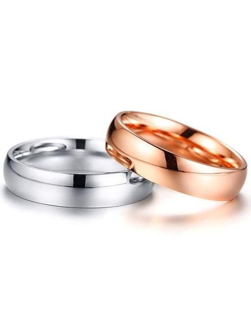 CONG Titanium Steel Geometric Minimalist Adjustable Bracelet