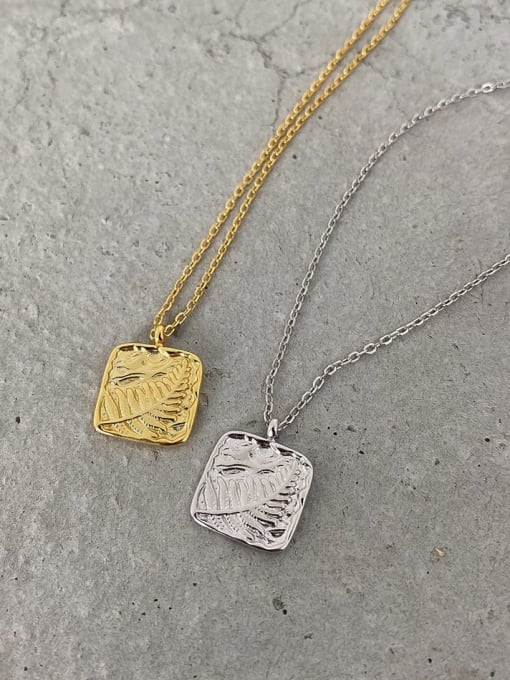 Boomer Cat 925 Sterling Silver Geometric Vintage Pendant Necklace 1