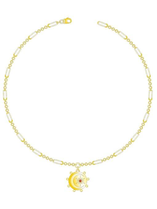 LI MUMU Brass Geometric Vintage Necklace 0