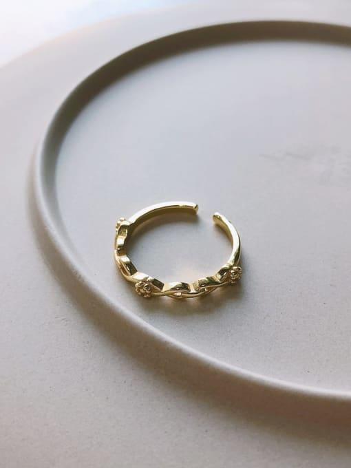 J 1064 925 Sterling Silver Cubic Zirconia Geometric Minimalist Band Ring