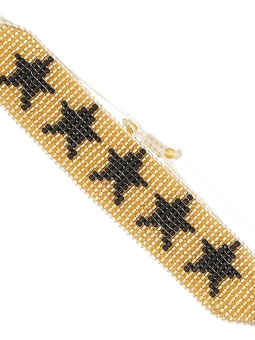 Roxi Multi Color MGB Bead Evil Eye Bohemia Adjustable Bracelet 3