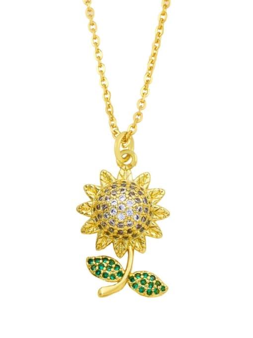 CC Brass Cubic Zirconia Locket Hip Hop Necklace