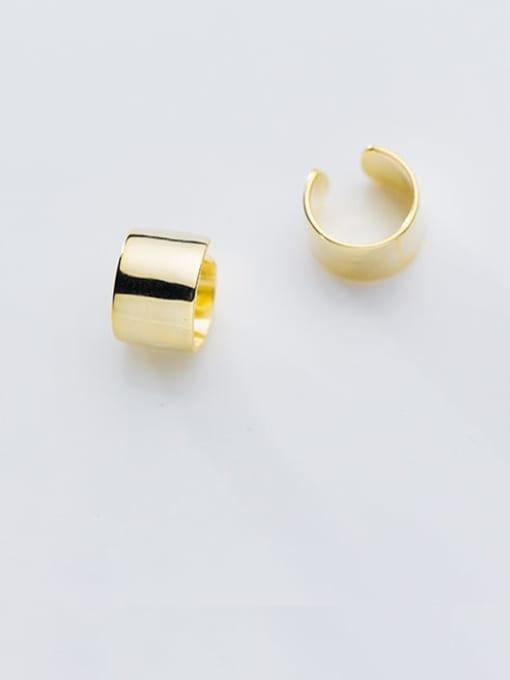 Rosh 925 Sterling Silver Smooth Geometric Minimalist Stud Earring 4