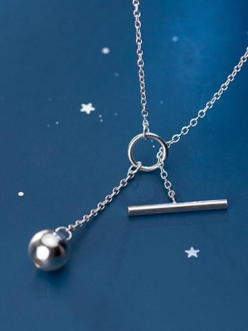 Rosh 925 Sterling Silver Tassel Minimalist Lariat Necklace 2