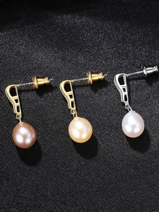 CCUI Brass Cubic Zirconia Water Drop Vintage Drop Earring 2