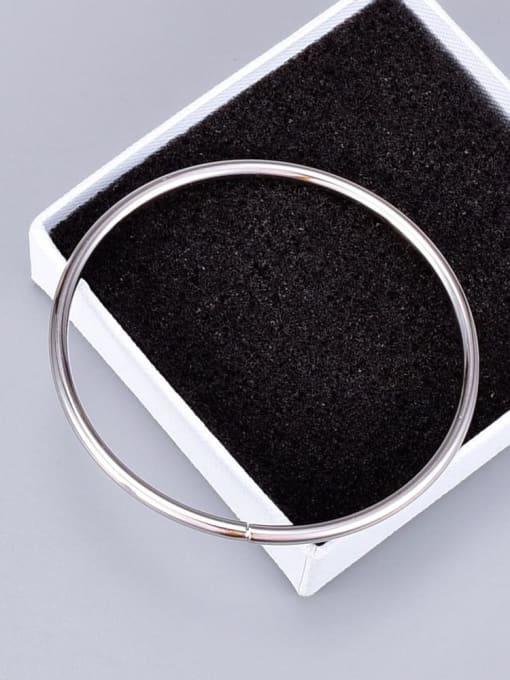 A TEEM Titanium Round Minimalist Band Bangle 4