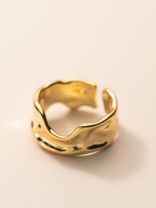 Rosh 925 Sterling Silver Geometric Minimalist Band Ring 3