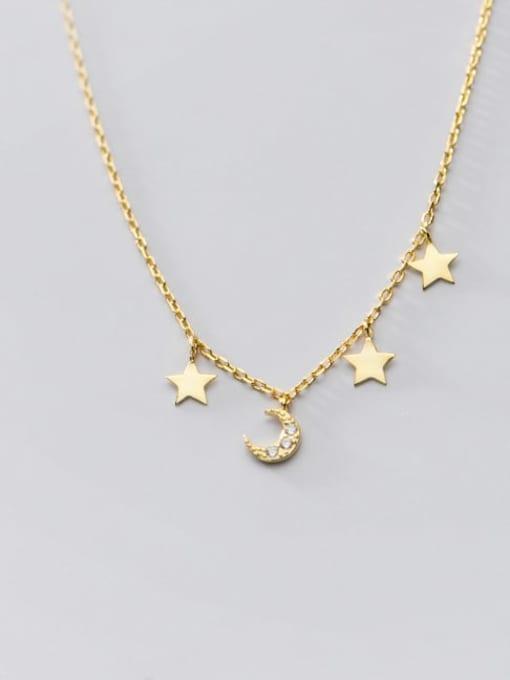 Rosh 925 Sterling Silver Star Minimalist Necklace 1