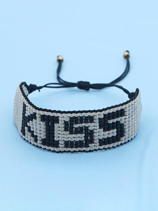 Roxi Multi Color MGB Bead Letter Bohemia Adjustable Bracelet 2
