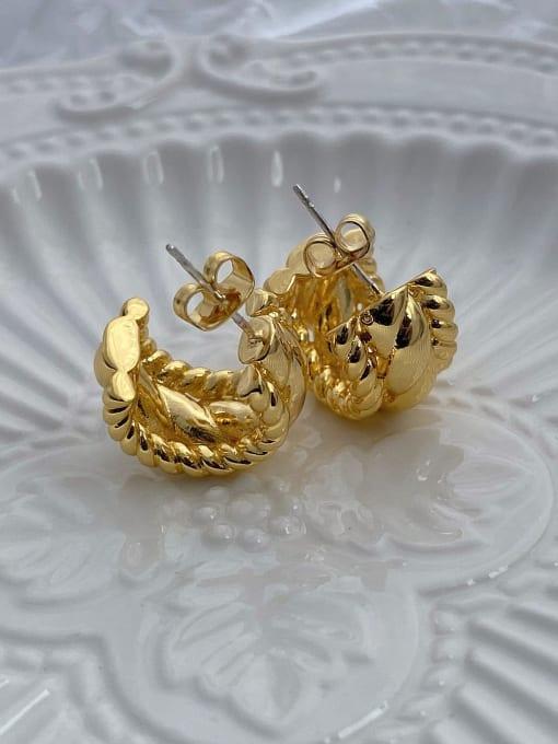 LI MUMU Brass Geometric Vintage Drop Earring 4