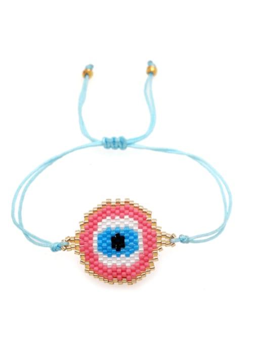 Roxi Multi Color  Miyuki DB Geometric Bohemia Adjustable Bracelet