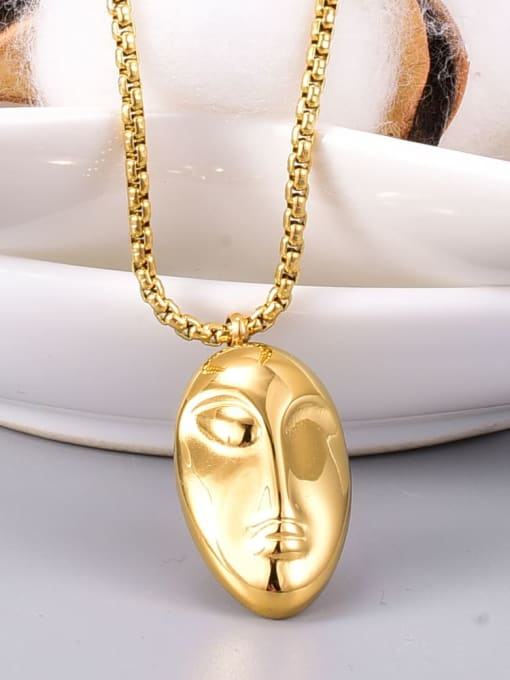 A TEEM The diameter of the pendant is 2.4cm, and the length of the bare chain on one face and the other side is 506cm (clavicle chain) 1