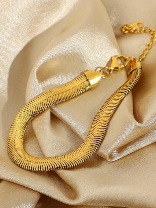 A TEEM Titanium Steel Snake Vintage  Anklet 1