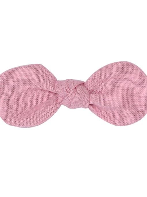 11 Lavender hairpin Alloy Fabric Minimalist Bowknot  Multi Color Hair Barrette