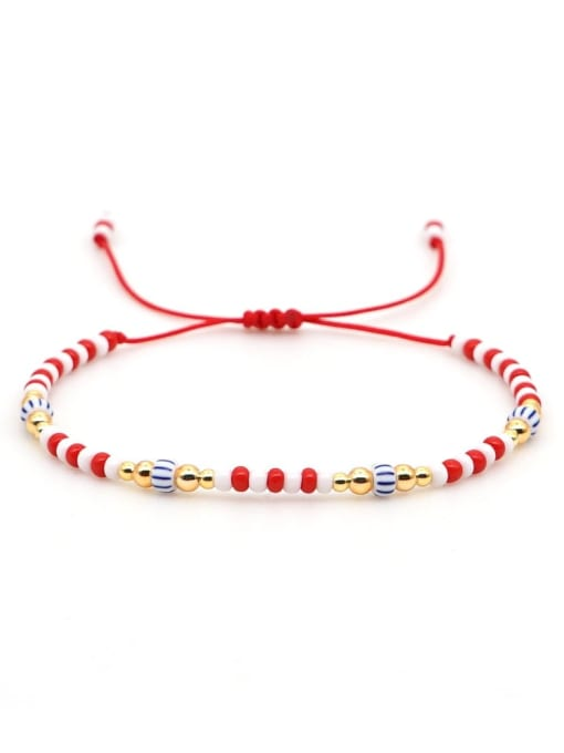 Roxi Stainless steel Miyuki beads Multi Color Geometric Bohemia Adjustable Bracelet 3