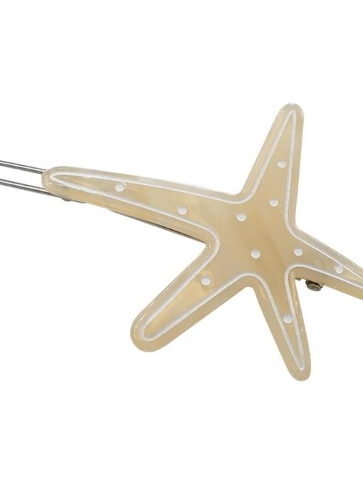 Chimera Cellulose Acetate Minimalist Star Hair Pin 2