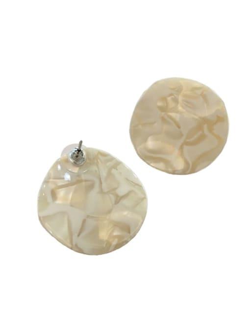 Chimera Cellulose Acetate Geometric Vintage Drop Earring 3