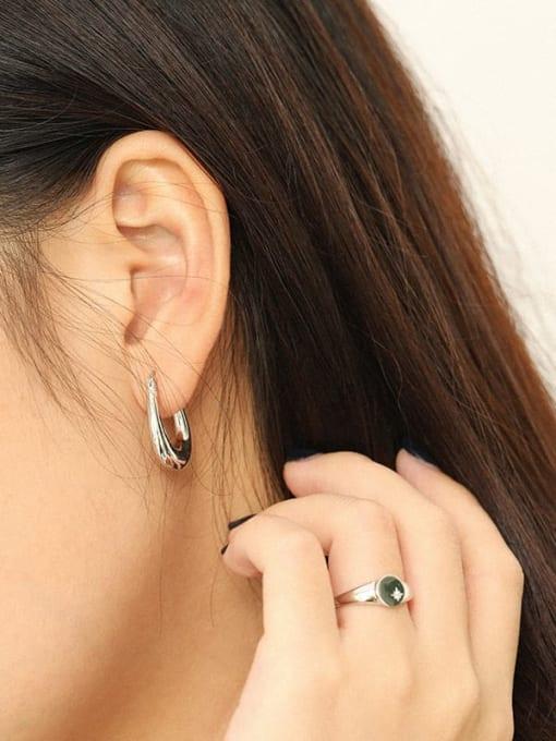 Dak Phoenix 925 Sterling Silver Geometric Vintage Drop Earring 2