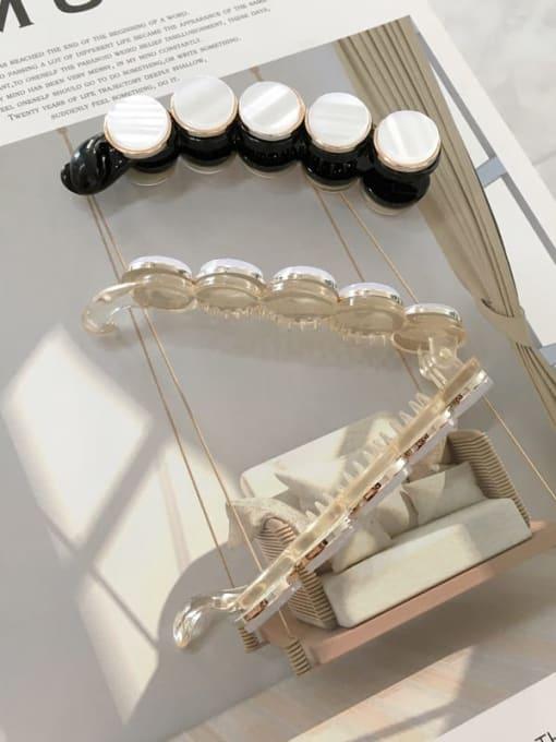 Chimera Cellulose Acetate Acrylic Minimalist Geometric Jaw Hair Claw 3
