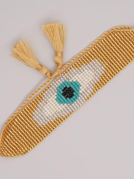 Roxi Multi Color MGB Bead Evil Eye Bohemia Adjustable Bracelet 2