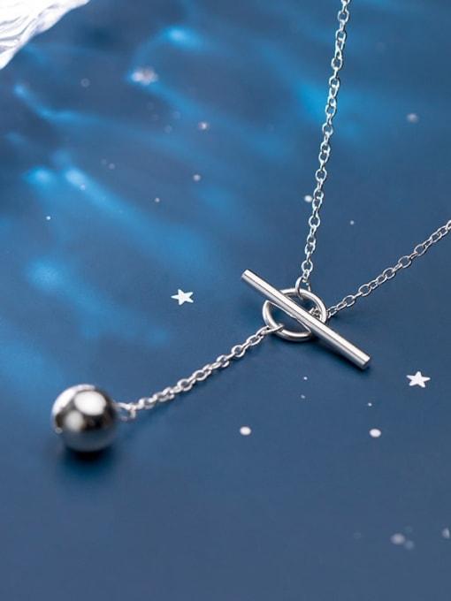 Rosh 925 Sterling Silver Tassel Minimalist Lariat Necklace 1