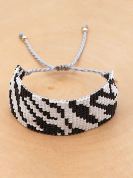 Roxi Multi Color MGB Bead Geometric Bohemia Adjustable Bracelet