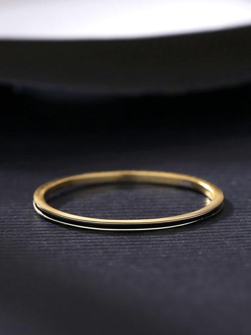 CCUI Brass Round Minimalist Band Ring 3