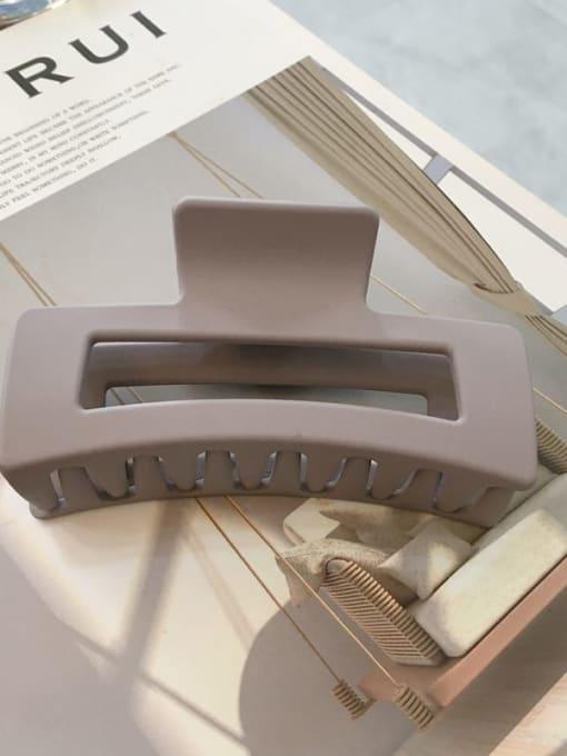 Cinnabar lilac Cellulose Acetate Minimalist Geometric Jaw Hair Claw