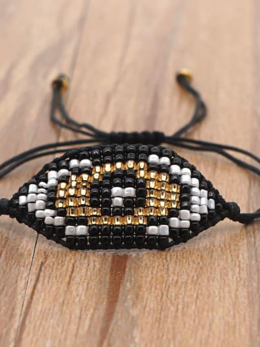 Roxi Stainless steel MGB Bead Geometric Bohemia Adjustable Bracelet 2
