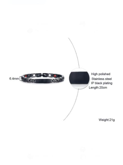 CONG Stainless steel Geometric Minimalist Bracelet 1