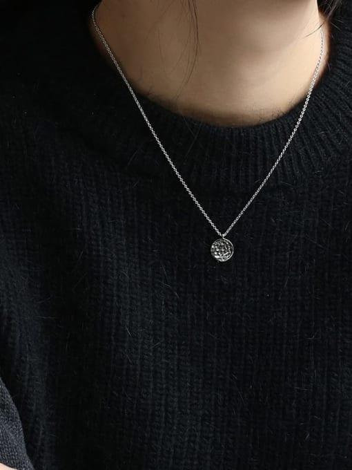 CHARME Brass Geometric Minimalist  Pendant Necklace 3
