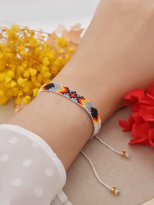 Roxi Multi Color  MGB Bead Geometric Bohemia Adjustable Bracelet 2