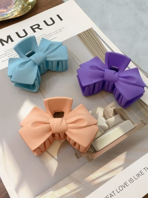 Chimera Cellulose Acetate Minimalist  multicolor Bowknot Jaw Hair Claw 0