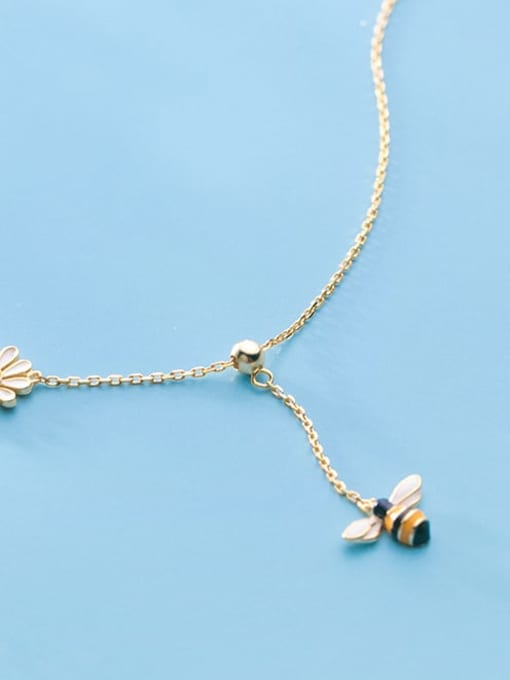 Rosh 925 Sterling Silver Enamel Insect Cute Lariat Necklace 1