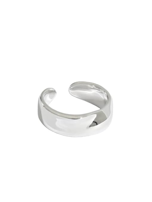 DAKA 925 Sterling Silver Irregular Minimalist Single Earring 4