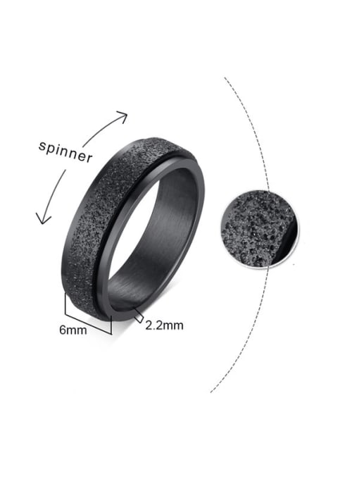 CONG Stainless steel Round Minimalist Band Ring 1