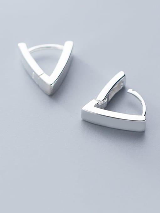 Rosh 925 Sterling Silver Triangle Minimalist Stud Earring 0