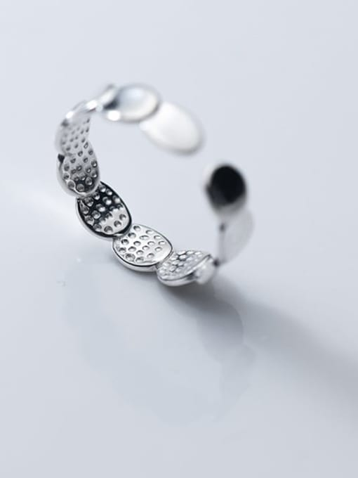 Rosh 925 Sterling Silver Round Minimalist Band Ring 1