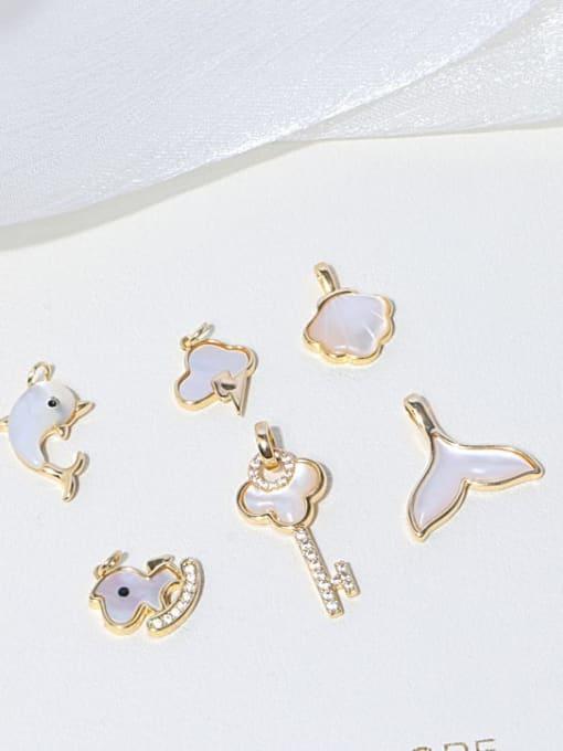 RAIN Brass Freshwater Pearl Cloud Minimalist Necklace 1